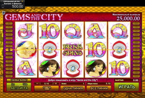 Gems and the City Slot - Play Online Slots for Free