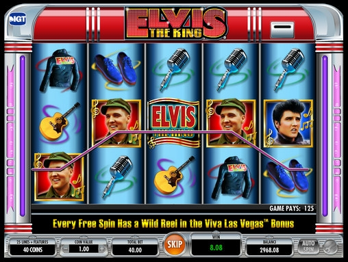 elvis casino games