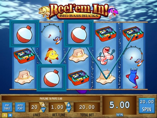 Reel em In™ Slot Machine Game to Play Free in WMS Gamings Online Casinos