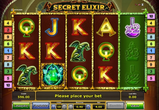 Secret Elixir Slot Game by Novomatic – Play Online for Free