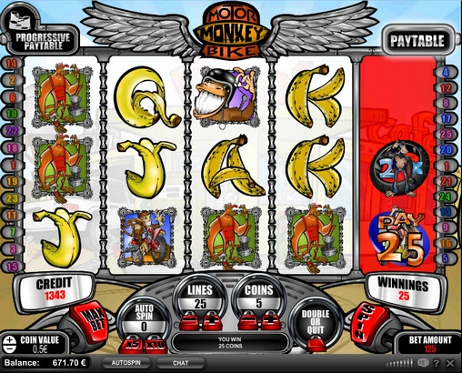 Motorbike Monkey Slot - Play Online Slots for Free