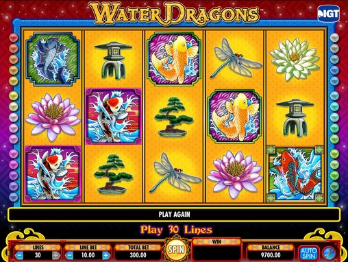 Water Dragons™ Slot Machine Game to Play Free in IGTs Online Casinos