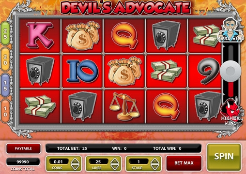 Devils Advocate Slot Machine - Try Playing Online for Free