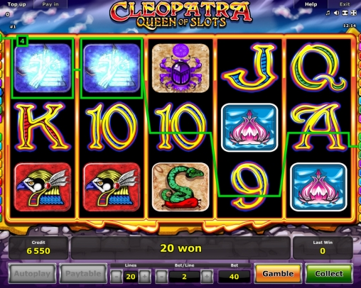 Cleopatra: Queen of Slots - Casumo Casino