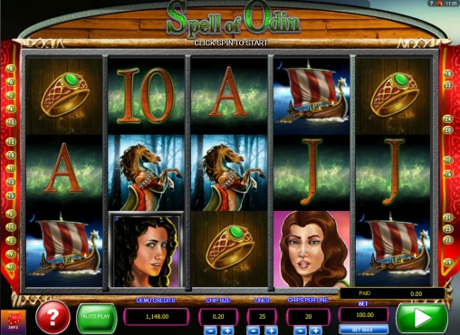 Spell Of Odin™ Slot Machine Game to Play Free in 2by2 Gamings Online Casinos