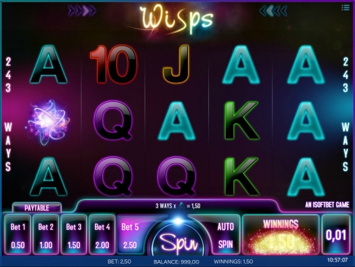 Wisps™ Slot Machine Game to Play Free in iSoftBets Online Casinos