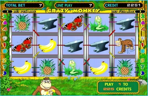 wild monkey casino games