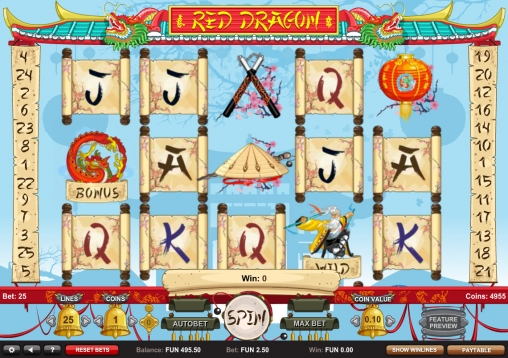 The Legendary Red Dragon Slots - Play for Free or Real Money