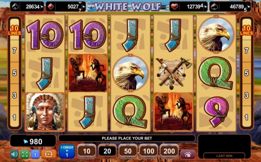 The White Wolf Slot Machine Online ᐈ EGT™ Casino Slots
