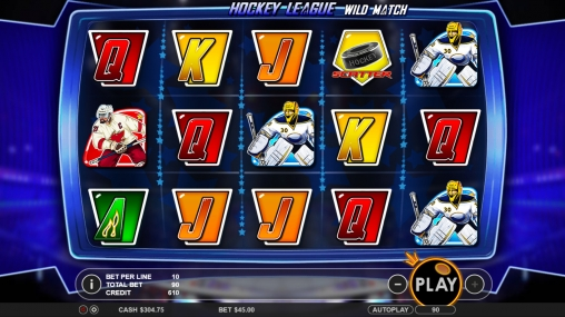 Hockey League Wild Match Slot - Read the Review Now