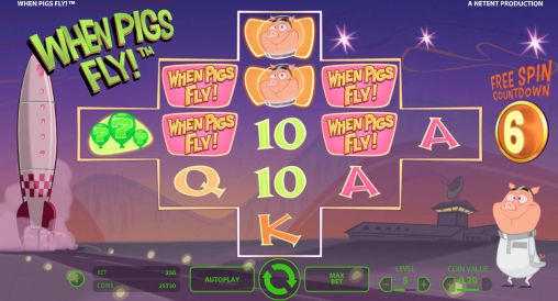 online slot games for money when pigs fly