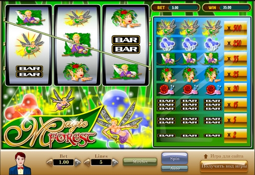 Magical Forest Slot Machine - Review and Free Online Game