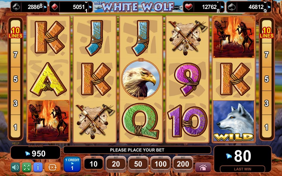 The White Wolf Slot Machine Online ᐈ EGT™ Casino Slots