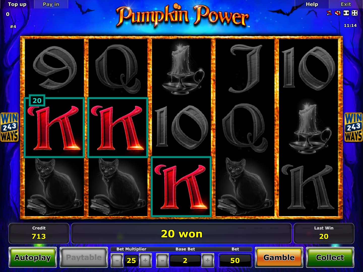 pumpkin power slots