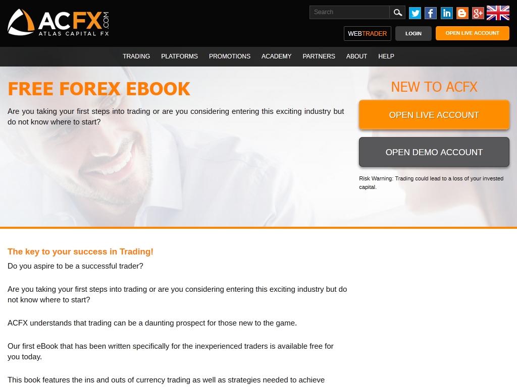 Acfx forex trading
