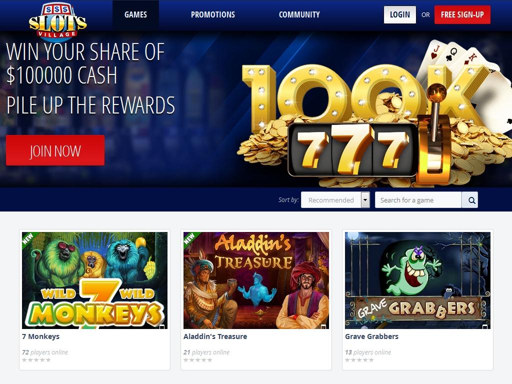 casino slots village
