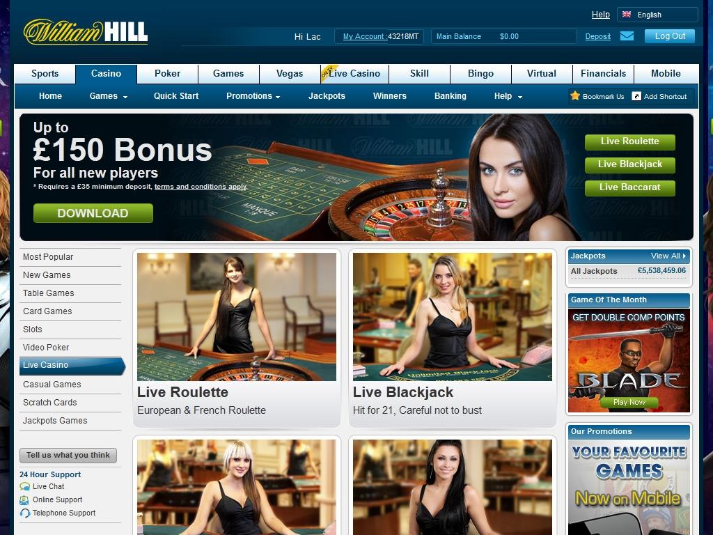 william hill casino download