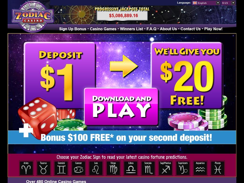 zodiac casino website