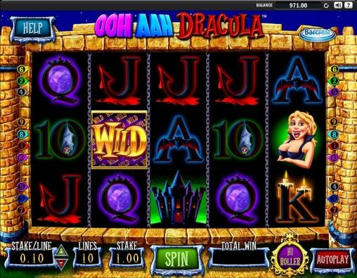 Ooh Aah Dracula Slot Machine Review & Free Online Demo Game